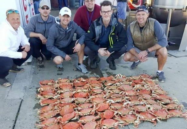 Astoria OR Crab Catch