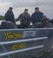 Blood Sport - The First Pass Outfitters boat