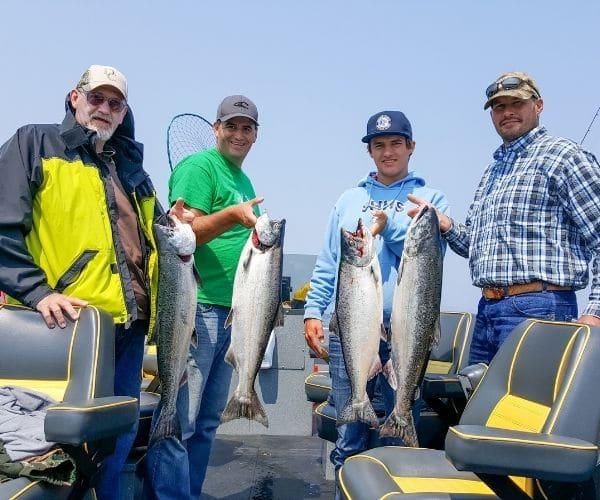 Charter Fishing Boat Astoria Oregon