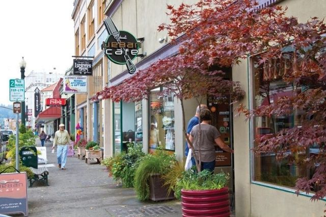 Downtown Astoria OR