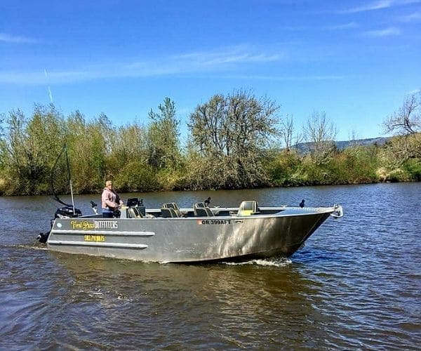 First Pass Outfitters Boat