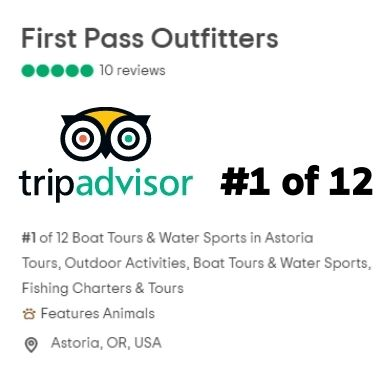 Number 1 Fisher Charter in Astoria on TripAdvisor 2021