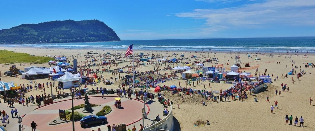 volleyball in Seaside OR